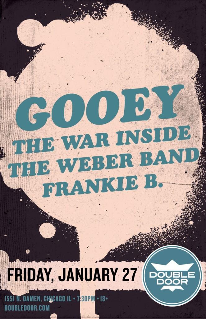 Gooey album release
